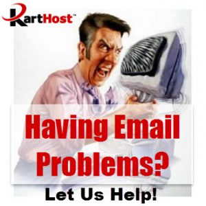KartHost KloudEmail solves your email problems
