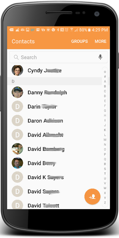 Contacts-mobile