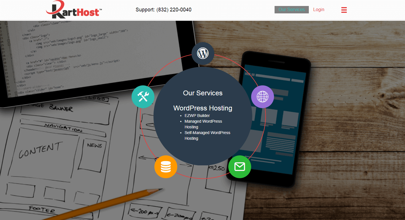 Karthost Services Page