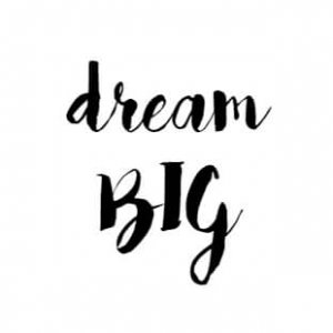 Dream Big Font