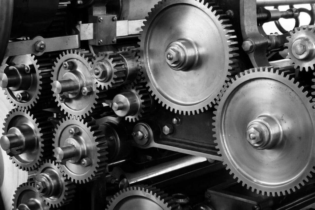 Print Press Gears